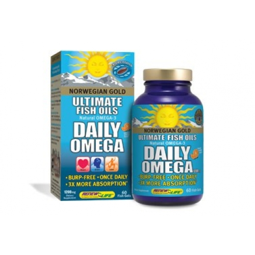Norwegian gold daily omega for Daily fish oil