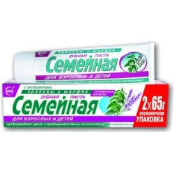 Family Toothpaste w/ Nettle and Sage Herb